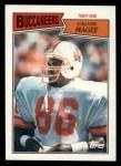 1987 Topps #389  Calvin Magee  Front Thumbnail