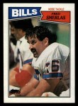 1987 Topps #368  Fred Smerlas  Front Thumbnail