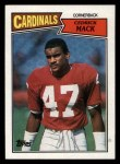 1987 Topps #338  Cedric Mack  Front Thumbnail