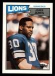 1987 Topps #319  James Jones  Front Thumbnail
