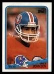 1988 Topps #25  Vance Johnson  Front Thumbnail