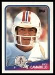 1988 Topps #184  Rich Camarillo  Front Thumbnail