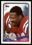 1988 Topps #186  Andre Tippett  Front Thumbnail
