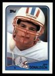 1988 Topps #115  Jeff Donaldson  Front Thumbnail