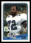 1988 Topps #266  Ed Too Tall Jones  Front Thumbnail
