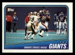1988 Topps #271   -  Joe Morris / Mark Bavaro / Terry Kinard / Lawrence Taylor / Carl Banks Giants Leaders Front Thumbnail