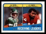 1988 Topps #216   -  Al Toon / J.T. Smith Receiving Leaders Front Thumbnail