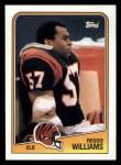 1988 Topps #348  Reggie Williams  Front Thumbnail