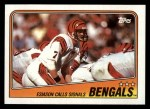 1988 Topps #339   -  Larry Kinnebrew / Eddie Brown / David Fulcher / Robert Jackson / Reggie Williams / Tim Krumrie Bengals Leaders Front Thumbnail