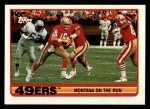 1989 Topps #6   -  Joe Montana / Roger Craig / Tim McKyer / Charles Haley / Michael Walter 49ers Leaders Front Thumbnail