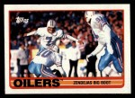 1989 Topps #90   -  Tony Zendejas / Mike Rozier / Drew Hill / Jeff Donaldson / Ray Childress / William Fuller / John Grimsley Oilers Leaders Front Thumbnail