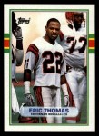 1989 Topps #37  Eric Thomas  Front Thumbnail