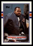 1989 Topps #68  Thomas Sanders  Front Thumbnail