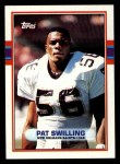 1989 Topps #154  Pat Swilling  Front Thumbnail