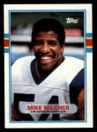 1989 Topps #130  Mike Wilcher  Front Thumbnail