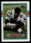 1989 Topps #156  Lonzell Hill  Front Thumbnail