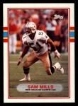 1989 Topps #155  Sam Mills  Front Thumbnail
