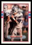 1989 Topps #187  Paul Moyer  Front Thumbnail