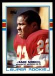 1989 Topps #252  Jamie Morris  Front Thumbnail