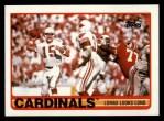 1989 Topps #276   -  Neil Lomax / Earl Ferrell / J.T. Smith / Carl Carter / Cedric Mack / Freddie Joe Nunn / Tim McDonald Cardinals Leaders Front Thumbnail