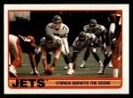 1989 Topps #222   -  Ken O'Brien / Freeman McNeil / Al Toon / Erik McMillan / Marty Lyons / Kyle Clifton Jets Leaders Front Thumbnail