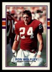 1989 Topps #280  Ron Wolfley  Front Thumbnail