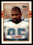 1989 Topps #294  T.J. Turner  Front Thumbnail
