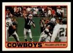 1989 Topps #382   -  Steve Pelluer / Herschel Walker / Ray Alexander / Garry Cobb / Danny Noonan / Bill Bates Cowboys Leaders Front Thumbnail