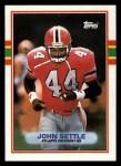 1989 Topps #346  John Settle  Front Thumbnail