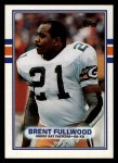 1989 Topps #372  Brent Fullwood  Front Thumbnail