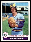 1979 Topps #448  Moose Haas  Front Thumbnail