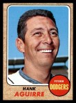 1968 Topps #553  Hank Aguirre  Front Thumbnail