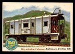 1955 Topps Rails & Sails #48   Bay-Windown Caboose Front Thumbnail