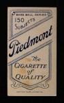 1909 T206  George Stone  Back Thumbnail