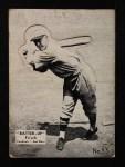 1934 Batter Up #33  Frankie Frisch   Front Thumbnail