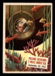 1954 Topps Scoop #69   Piccard Descends 2 Miles Under  Front Thumbnail