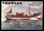 1955 Topps Rails & Sails #160   Trawler Front Thumbnail