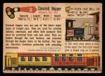 1955 Topps Rails & Sails #2   Covered Hopper Car Back Thumbnail