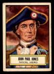 1952 Topps Look 'N See #42  John Paul Jones  Front Thumbnail