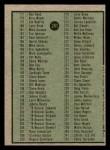 1979 Topps #241   Checklist 2 Back Thumbnail