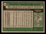 1979 Topps #365  Sparky Lyle  Back Thumbnail