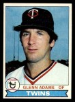 1979 Topps #193  Glenn Adams  Front Thumbnail