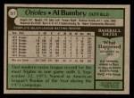 1979 Topps #517  Al Bumbry  Back Thumbnail