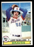 1979 Topps #504  Larry McWilliams  Front Thumbnail