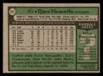 1979 Topps #432  Dave Heaverlo  Back Thumbnail