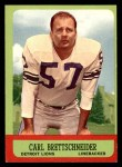 1963 Topps #31  Carl Brettschneider  Front Thumbnail