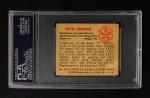 1950 Bowman #45  Otto Graham  Back Thumbnail