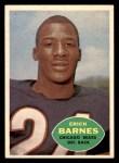 1960 Topps #19  Erich Barnes  Front Thumbnail