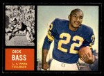 1962 Topps #80  Dick Bass  Front Thumbnail