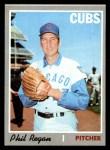 1970 Topps #334  Phil Regan  Front Thumbnail